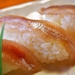 大豊寿司 - ししゃも寿司(2015年11月)