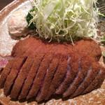 牛かつもと村 - 牛カツ(2枚)