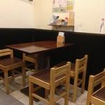 まるいち - テーブルもいつも満席