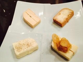 かんだ光壽 - クリームチーズの味噌漬・粕漬