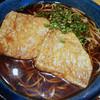 松平 - 料理写真:かけそば+きつね