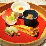 茅乃舎 - 前菜