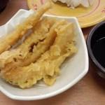 スシロー - かぼちゃ天ぷら<税込>108円(2015.11.21)