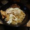 魚骨ラーメン 鈴木さん - 料理写真:超(スーパー)秋刀魚まぜそば(15-11)