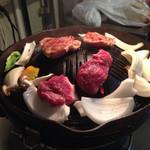 まーさん - (2015.11 2回目)ラム肩ロース&ランプ&焼き野菜
