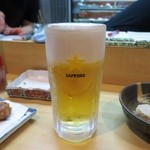 にしの - 生ビール