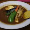 スープカレー カムイ - 料理写真:秋の君色スープカレー~☆