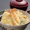 天ぷら つな八 - 料理写真:季節のランチ いかえび天丼