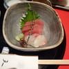 銀座天一 - 料理写真:今日のお造り(鮪・鯛)