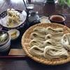 戸隠日和 - 料理写真:大ざる+舞茸の天ぷら(小盛り)