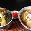 松味屋 - 料理写真:つがるらぁめんと天丼のセット 1,050円です!