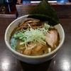 麺屋 無尽蔵  - 料理写真:【2015/11】無尽蔵塩らーめん大盛+メンマ