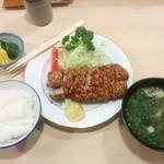 とんき - ロースかつ定食 1,650円