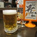 室町ノおみつ - 生ビール