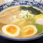 蔵亭  - 塩ラーメン(全卵麺指定)
