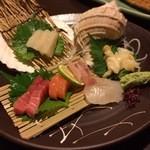 函館海鮮居酒屋 魚まさ - 刺身一人前