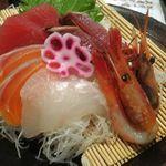 魚神 - 刺身御膳。さかなやま神の倉店(名古屋市緑区)食彩品館.jp撮影