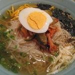 焼肉 慶松苑 - 『慶松苑』の冷麺(中)