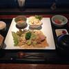 幸照 - 料理写真:日替わりランチ、鮭の味噌焼き980円