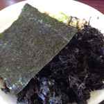 麺屋酒田inほなみ - 岩海苔ラーメン