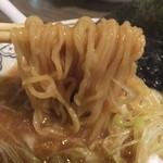 ばんから - 黒酢とろみの麺
