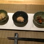 魚菜料理 二代目 みつい - お通し
