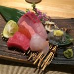 魚菜料理 二代目 みつい - お造り盛り合わせ 一人前