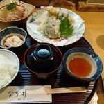 なか井 - 天ぷら定食