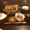 磋房 - 料理写真:茄子と鶏唐揚げの油淋鶏