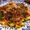 じゅうべえ - 料理写真:エビお好み焼き