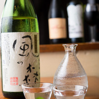 日本酒有名銘柄もリーズナブルな価格でご提供