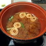 牛かつもと村 - 定食の味噌汁