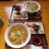 味のよし武 - 料理写真:すし(5個)としょうゆラーメンのセット@900円