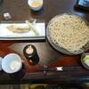 石臼挽き 手打蕎麦 みずき - 料理写真:岩魚天ざるそば1440円