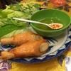 カラテチョップ - 料理写真:チャオトム  エビのすり身をさとうきびに巻いて揚げたもの。 香りがいいです!