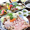 魚の巣 - 料理写真:徳島ブランド地鶏【阿波地鶏の鍋コース】3,000円