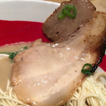 濃厚煮干とんこつラーメン 石田てっぺい - 炙りチャーシュー