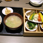 泥武士 - 豚汁とお野菜ご膳♪