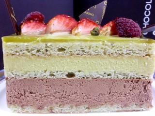 ショコラティエ パレ ド オール - '09/11月 シシリアン 銀座三越限定出店の時のケーキ