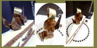 ショコラティエ パレ ド オール - '09/11月パレドール 銀座三越限定出店の時のケーキ