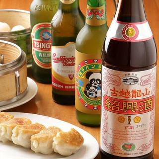 ビール、焼酎は当たり前!珍しい中国酒有