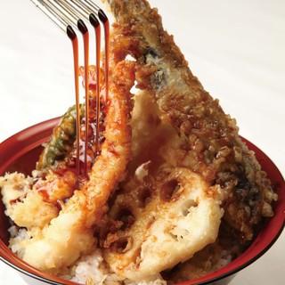 味と風味にこだわった自家製、自慢の天丼のたれ