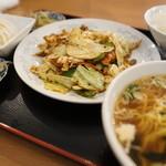 中華料理 豊楽園 - 料理写真:ホイコロセット