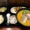 萬亭 - 料理写真:「餃子ランチ」白丸とんこつ