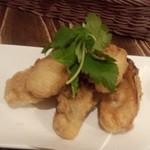 オイスターバー 広島じゃけぇ - 牡蠣の天ぷら