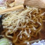 山大前 やまとや - ちぢれ麺(池袋東武催事「やまがた物産展)