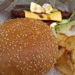 CAFE&HAMBURGER Ra-Maru - 下田バーガー★1000円♪