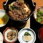 最上亭 - 1日10食限定の牛すき御膳2,000円
