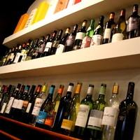 種類が豊富♪お好みのワインを見つけてください☆