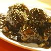クラフト ビア マーケット - 料理写真:黒胡麻の酢豚